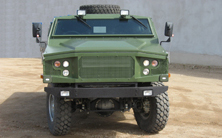 LBPV LIGHT BULLET PROOF VEHICLE